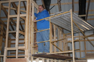 Russ - our fearless leader of this project who has put int countless hours of his time towards this building project